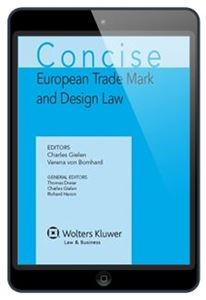 Imagens de Concise European Trademark and Design Law