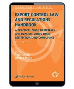 Imagens de Export Control Law and Regulations Handbook