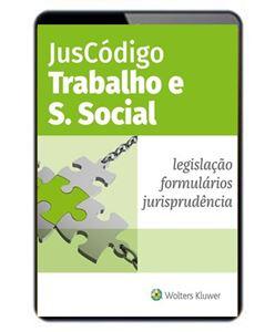 Imagens de JusCódigo Trabalho e Segurança Social