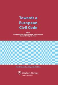 Imagens de Towards a European Civil Code