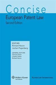 Imagens de Concise European Patent Law